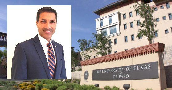 Dharamsi Named Dean of UTEP College of Health Sciences
