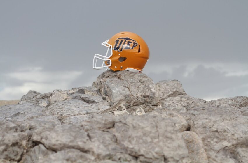 Gallery: UTEP Releases Photo of New Football Helmets