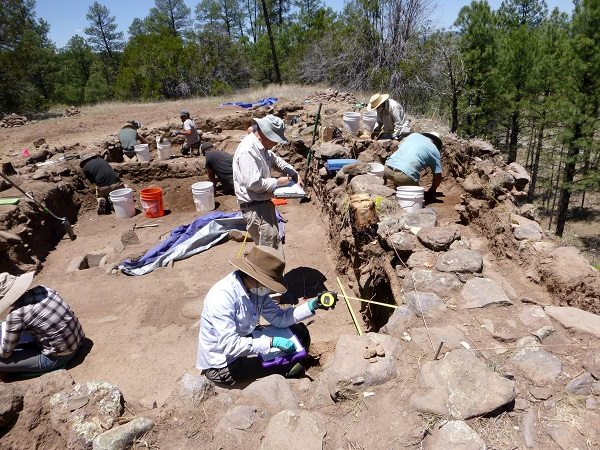 NMSU Anthropology Students Excavate Pueblo, learn life of Ancient New Mexicans