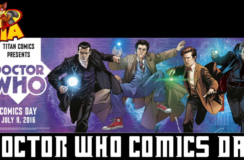 TNTM Doctor Who Comics Day set for July 9th