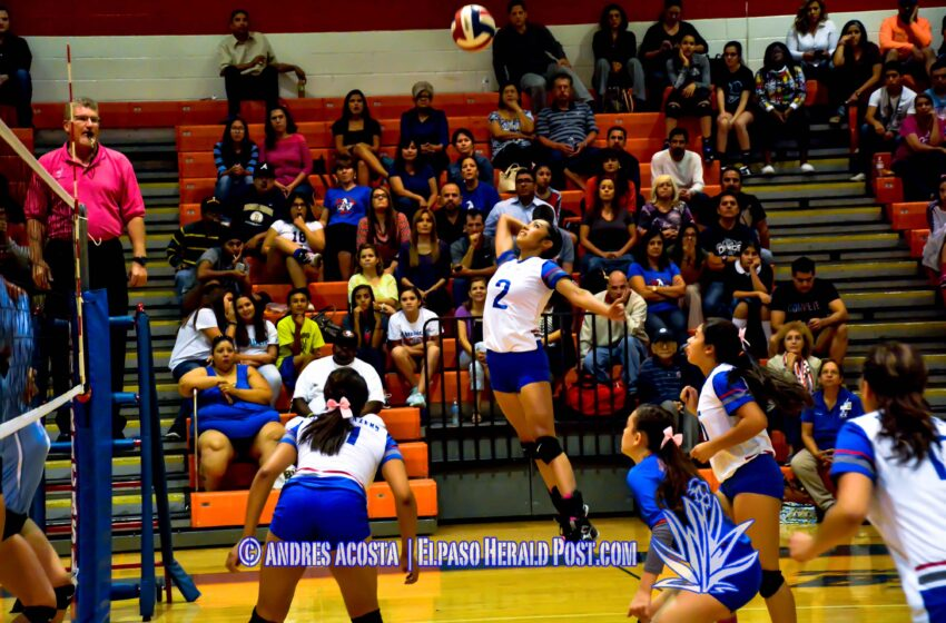 Story in Six Pics: Americas sweeps Socorro in 1-6A Volleyball