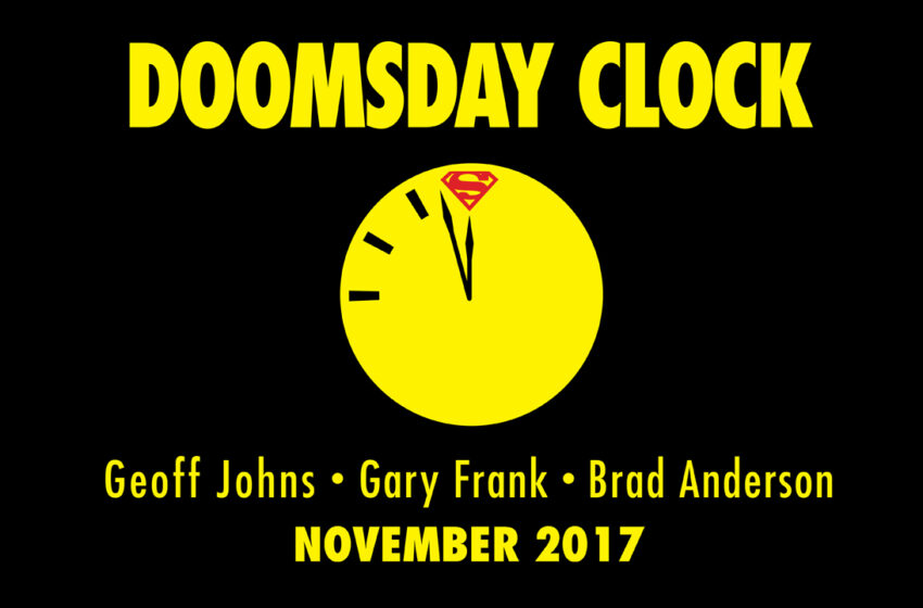 TNTM: DC Comics Doomsday Clock to answer questions