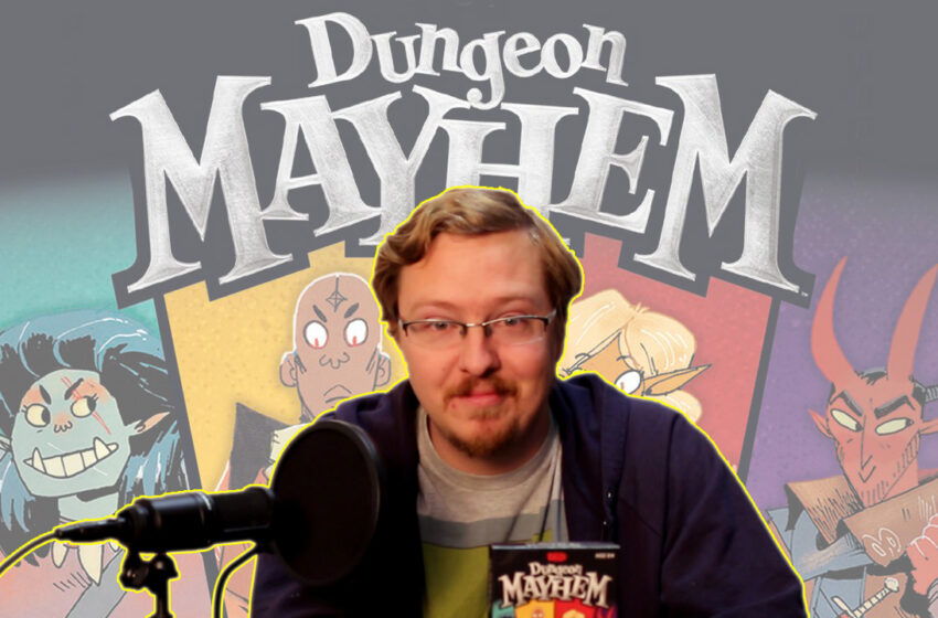 Video+Info: How to Play Dungeon Mayhem by Wizards of the Coast