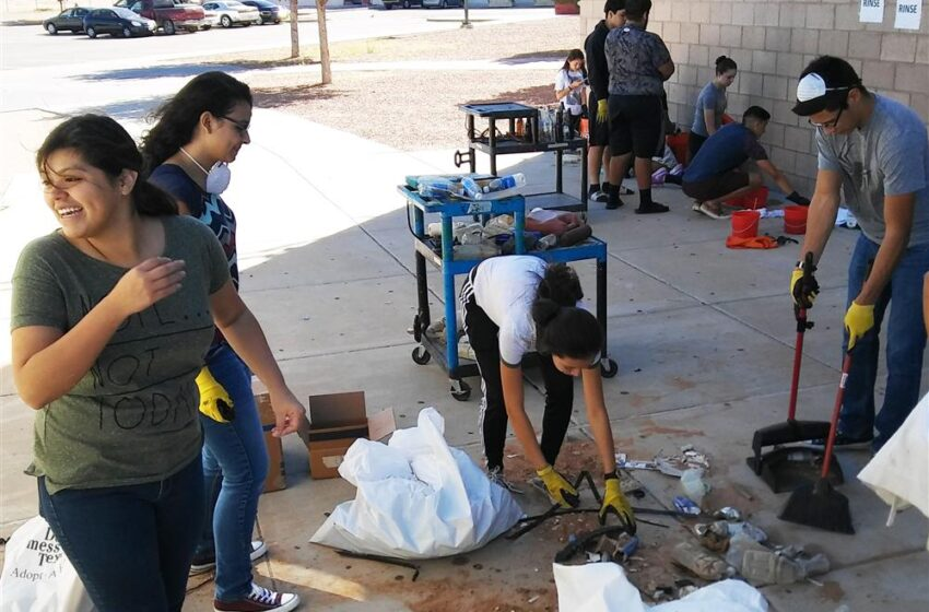 El Dorado Teacher, Students Making a Difference with Nationally Recognized Project