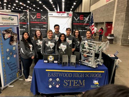 Eastwood Robotics Team Earns Honors at World Competition