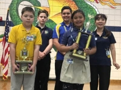 Eastwood Knolls International School Math Team Advances to State