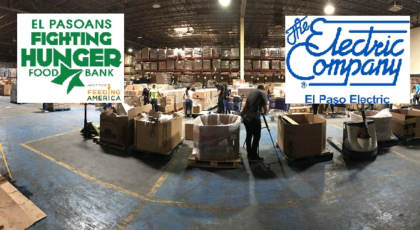 El Paso Electric launches employee-led donation initiative to help El Pasoans Fighting Hunger Food Bank