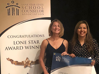 East Point Elementary School Counselors Honored at State Conference