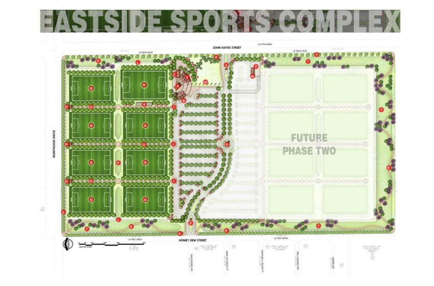 Pre-Construction Community Meeting for Eastside Sports Complex set for Tuesday