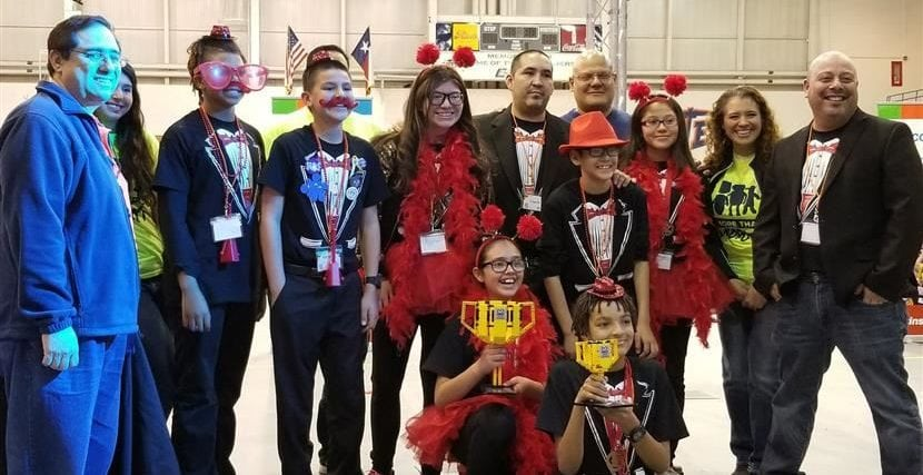 Socorro ISD Robotics Teams Earn Multiple Awards at Regional Contest