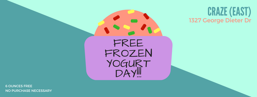 Free Frozen Yogurt Day This Friday