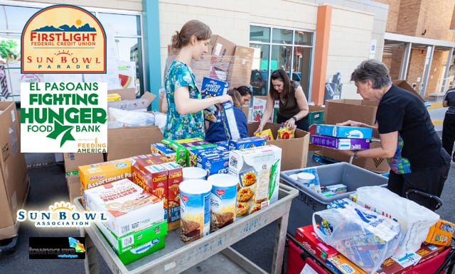 FirstLight FCU, Sun Bowl Association Team Up to Feed the Hungry in the Borderland
