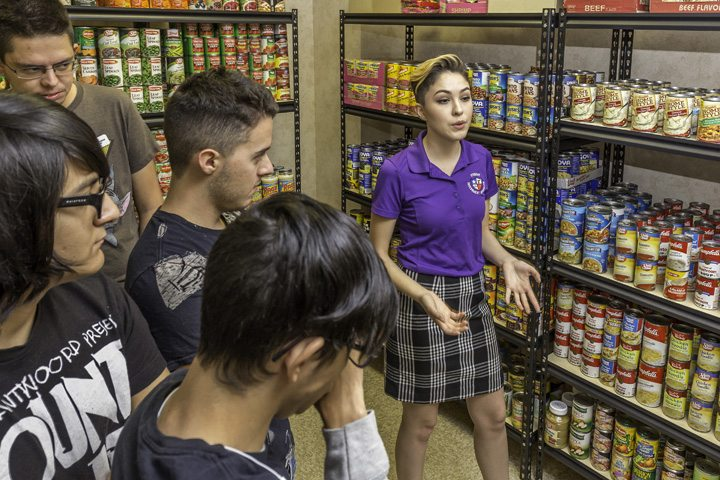 EPCC Tejanos Open Food Pantry for Students