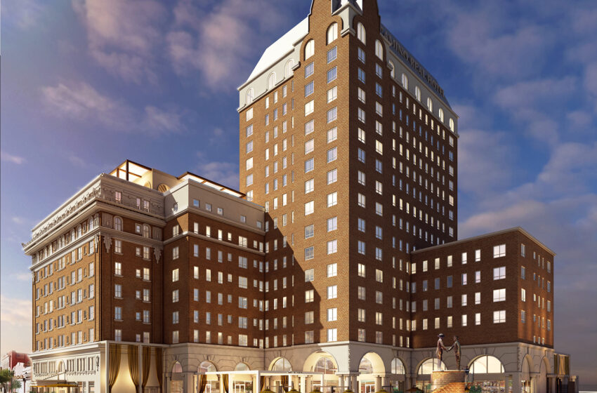 Gallery+Story: Meyers Group selects InterServ to Restore, Renovate Hotel Paso del Norte