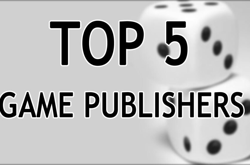 TNTM: Top 5 Game Publishers