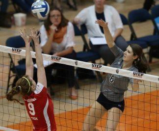 UTEP Volleyball Falls Short in Battle With North Dakota
