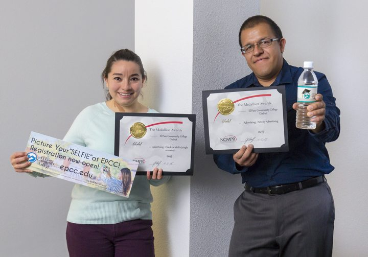 EPCC Graphics Team earns two gold awards in national competition