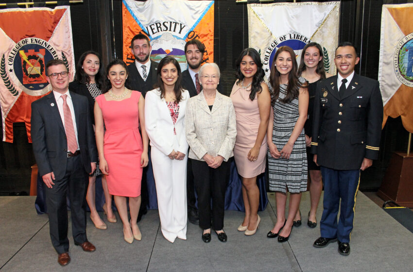 UTEP Alumni Association Honors Top 10 Seniors