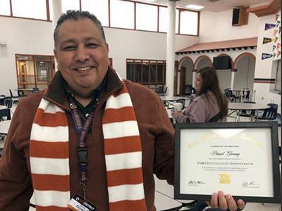 Riverside High School Principal Honored by TMEA