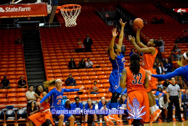 Miners rout Houston Baptist 98-63 in home opener