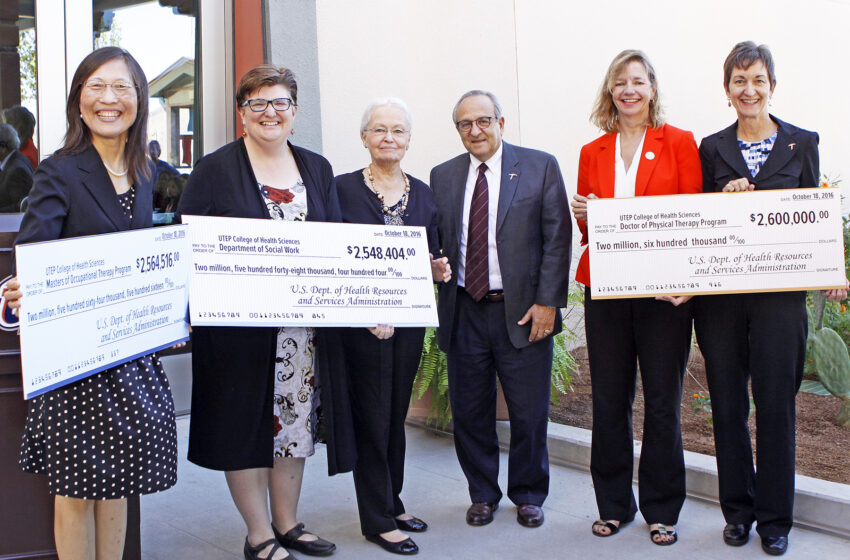 UTEP Awards Health Professions Scholarships to Improve Access to Health Care