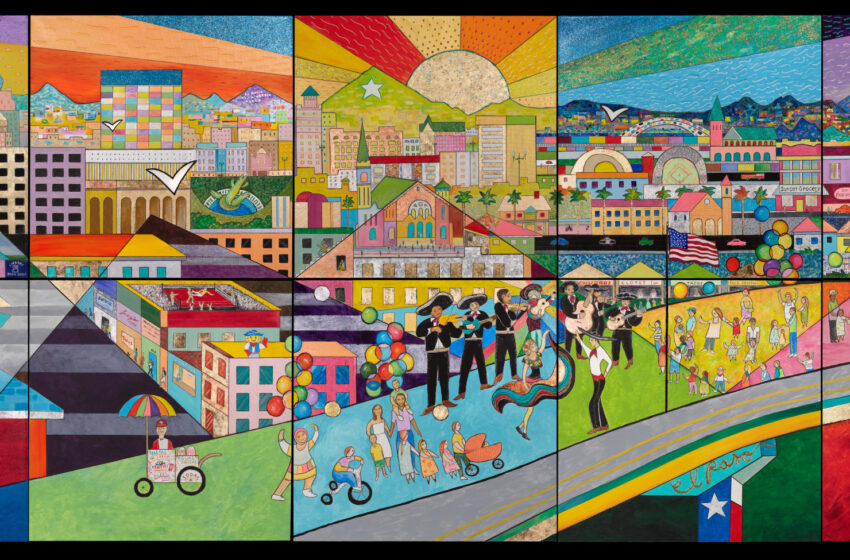 Artist Hal Marcus Unveils Largest Mural at Transmountain Hospital