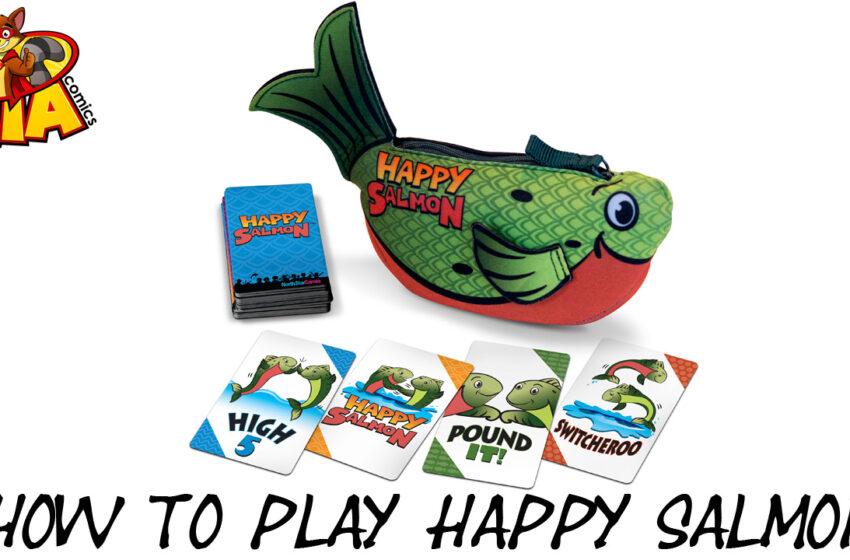 TNTM How to play Happy Salmon