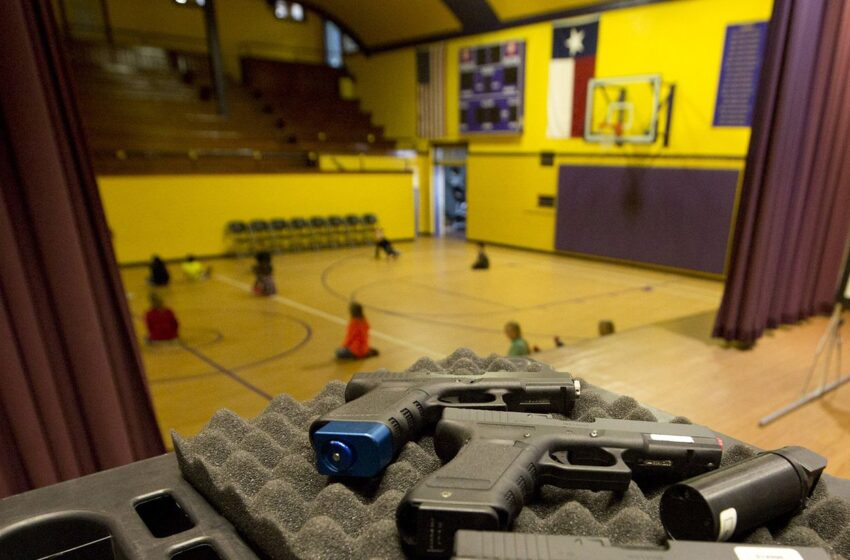 Texas Schools that Want to Arm their Employees Have Two Choices