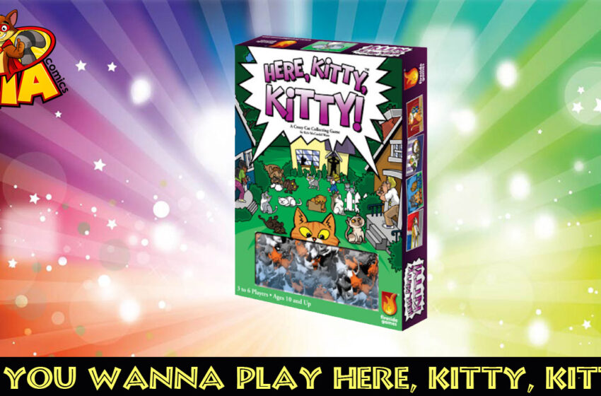TNTM Board Game Review: Here, Kitty, Kitty!