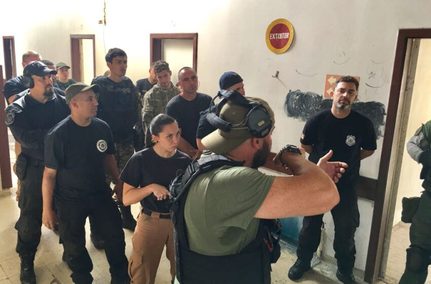 Gallery+Story: EPCSO Detention Officers help Train Counterparts in Brazil