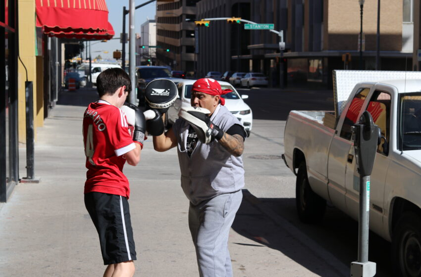Gallery+Story: In the Heart of Downtown, Boxing Gym Inspires