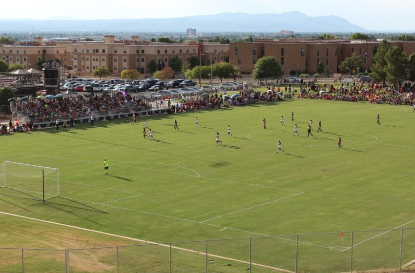 Record-breaking crowd sees Aggie Soccer battle UNM