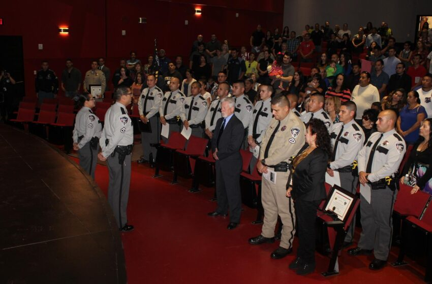 Sheriff, families celebrate Basic Peace Officer graduation