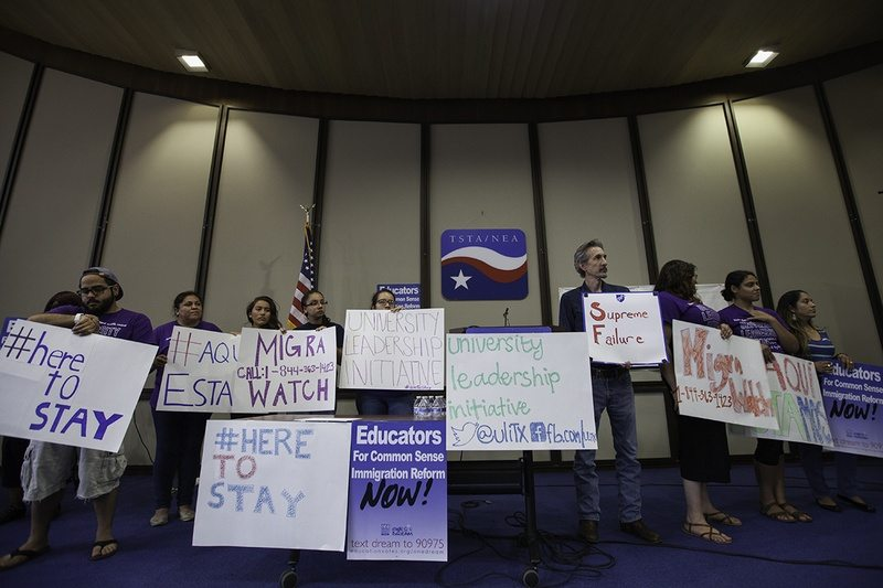 After Deadlock, Undocumented Texans Aim to Fight for Change
