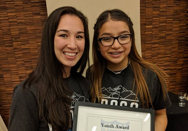 HACEP Resident Wins National Youth Leadership Award