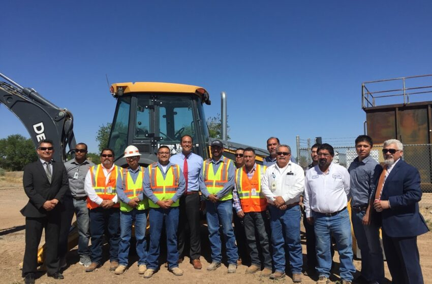 Lower Valley Water District Begins Wastewater Collection Projects