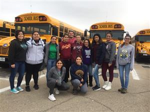 El Paso ISD CCTE Students Team Up with Transportation Department for Safety Check