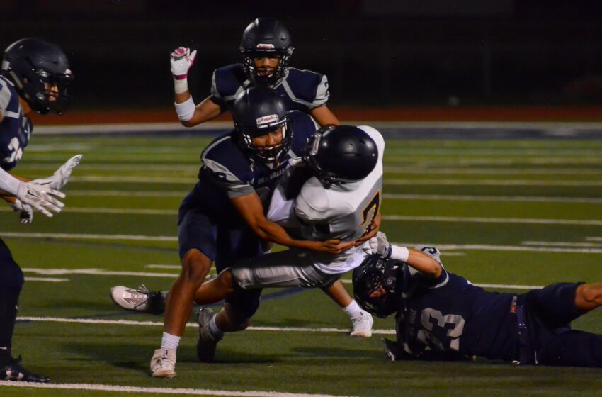 Story in Many Pics: Eastwood Takes on Del Valle in Preseason Scrimmage