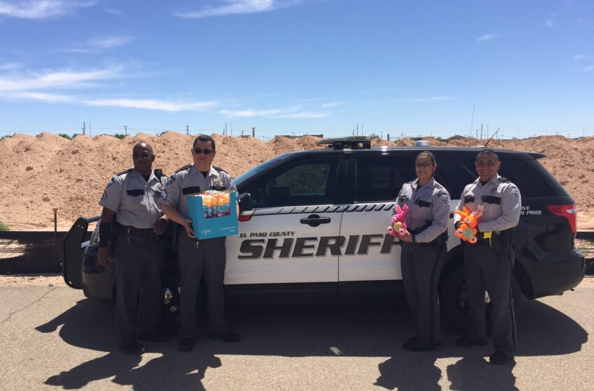 EPCSO Donates Easter Goodies to Candlelighters