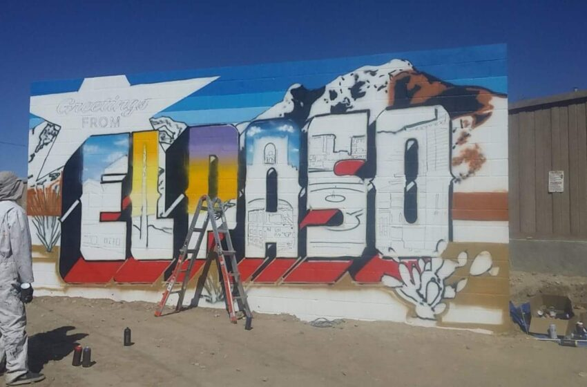 Traveling Muralists bring Iconic  'Greetings From…' Postcard to The Substation