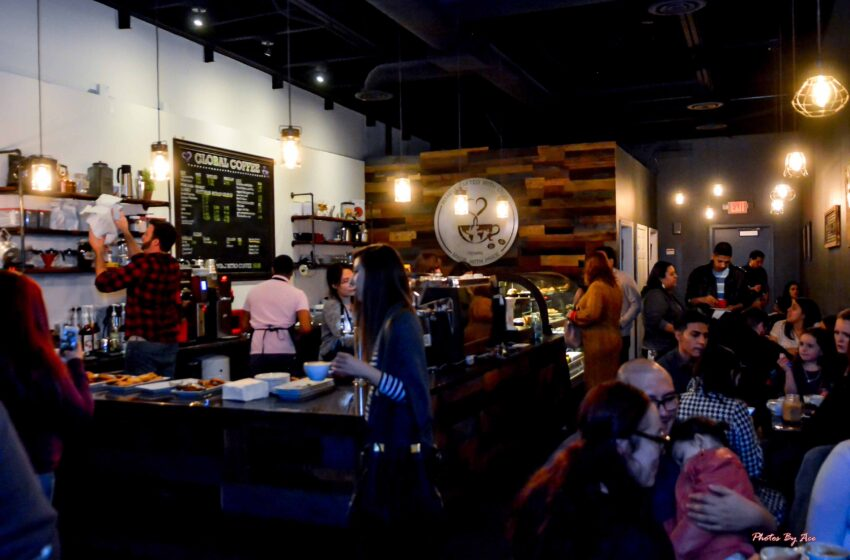 Story+Gallery: Global Coffee aims to give Eastsiders Unique Coffee Shop Experience