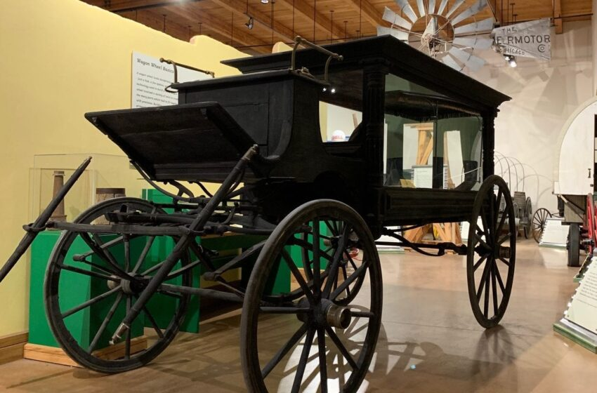 New Mexico Farm and Ranch Museum receives 'Pat Garrett hearse'