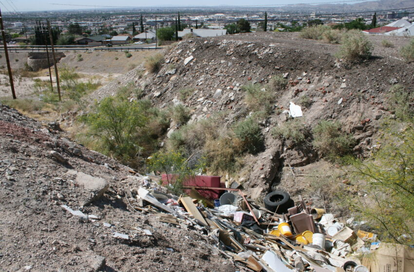 El Pasoans Urged to Call 311 to Report Illegal Dumping