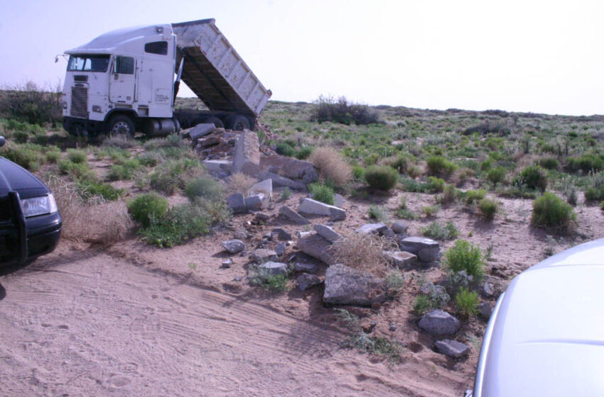 Report: El Paso Spends $5 million on Litter, Illegal Dumping