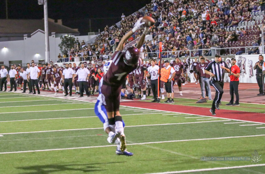 Story in Many Pics: Ysleta Rallies to Beat Bowie 29-28
