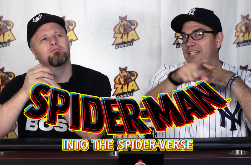 Video+Story: TNTM Spider-man: Into the Spider-verse Discussion