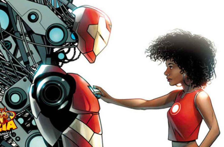 TNTM: Riri Williams will be the new Iron Man
