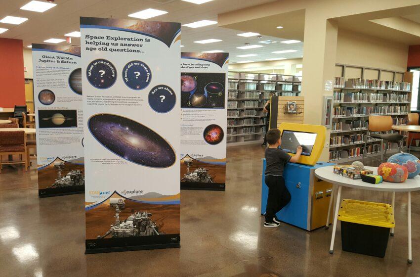 El Paso Public Library Hosting Explore Space: A Cosmic Journey Exhibit