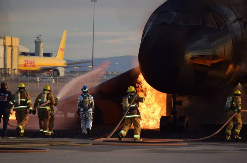 EPFD Firefighters return from live-fire training in Utah