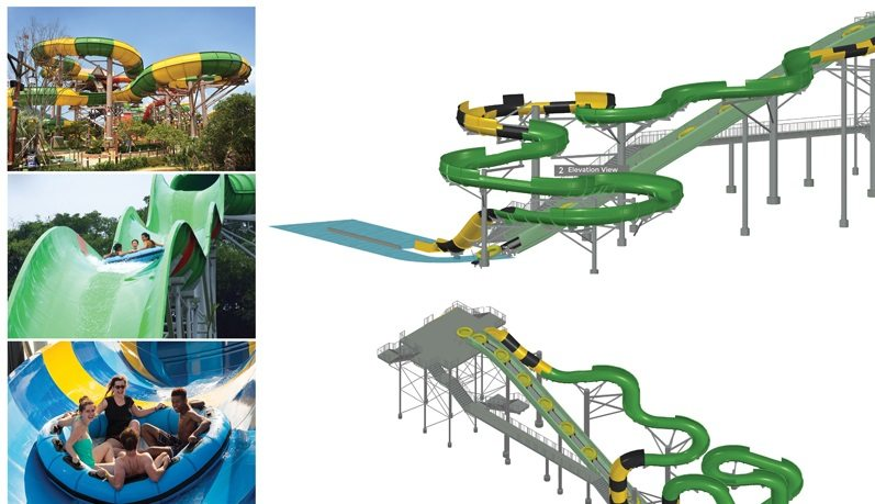 "Family-Raft Ride ""Jaguar Falls"" Coming to Wet-N-Wild Waterworld this May"